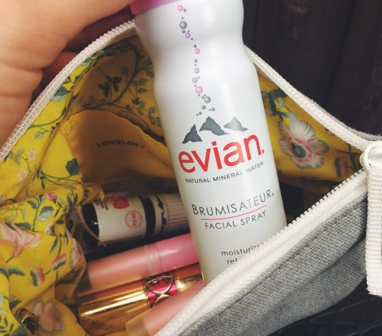 Everyday Essentials with Evian Facial Spray